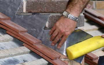 is Burroughston lead roofing safe?